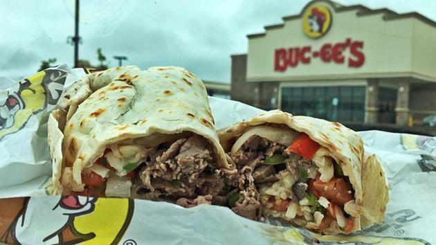 <div class='meta'><div class='origin-logo' data-origin='none'></div><span class='caption-text' data-credit=''>This Texas Cheesesteak Burrito is good enough for Texas and Philly!</span></div>