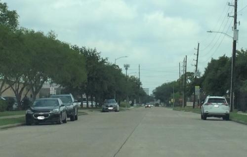 休斯敦西南区靠近中国城一处办公室区域传出有男子持疑似枪支武器闯入企图行抢事件。(美国《世界日报》记者郭宗岳/摄影)