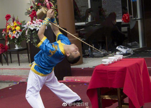 休斯敦中餐馆秀中国文化 引来美国主流媒体报道