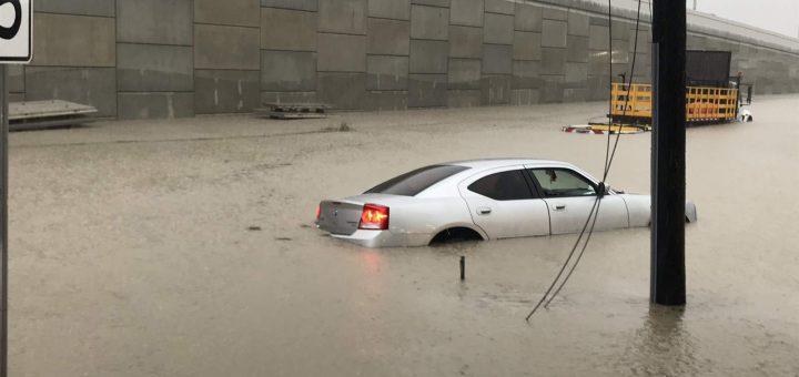 被恶劣天气洗劫后的休斯敦——流离失所的居民,司机滞留,树木倒塌