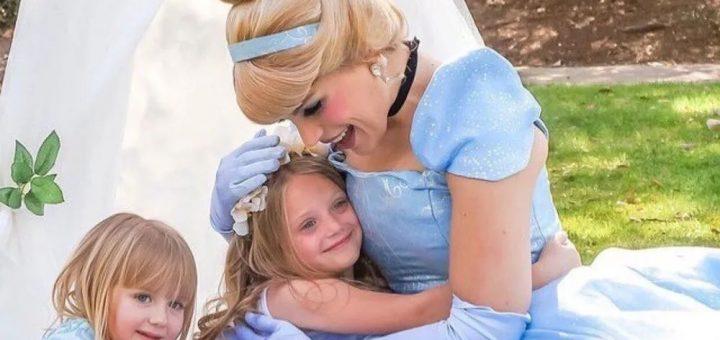 """一个靠""""当公主""""维生的妹子,这生活,每天都活在童话里~"""
